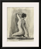 Sumi-e Figure I Print by Ethan Harper