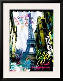 Magique Eiffel Posters by  Kaly