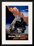 Canadian Pacific Train Prints