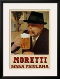 Moretti Birra Friulana Print