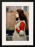 Juliet Framed Giclee Print by John William Waterhouse