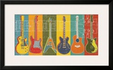 Guitar Hero Prints by Mj Lew