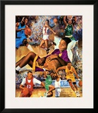 Dreaming Big (Basketball) Prints by Clement Micarelli