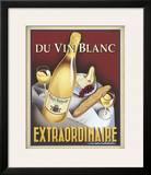 Du Vin Blanc Extraordinaire Framed Giclee Print by Steve Forney