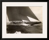 J Class Sailboat, 1934 Poster by Edwin Levick