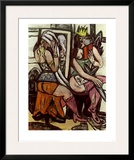 Actresses Posters by Max Beckmann