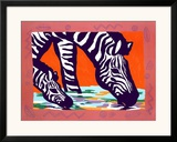 Young Zebra Art by Gerry Baptist