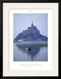 Le Mont Saint Michel Posters by Philip Plisson