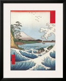 The Sea off Satta in Suruga Province Prints by Ando Hiroshige