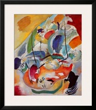 Improvisation No. 31, Sea Battle, c.1913 Posters by Wassily Kandinsky