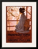 Puccini, Madama Butterfly Prints