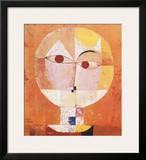 Head of Man, Going Senile, c.1922 Prints by Paul Klee