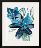 Flowers of Azure II Poster by Angela Maritz