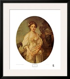 The Broken Jug Prints by Jean-Baptiste Greuze
