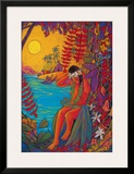 Before The Hula Framed Giclee Print by Rick Sharp