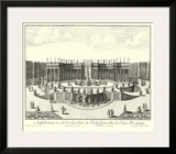 Fountains of Versailles III Prints by Paul Decker