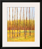 Tall Trees I (left) Framed Giclee Print by Libby Smart