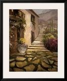 Sunlit Villa II Art by Allayn Stevens