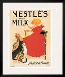 Nestle's Milk Poster by Théophile Alexandre Steinlen