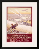 Expo Aerienne Framed Giclee Print by Georges Dorival