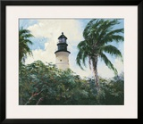 Key West Lighthouse Prints by Michael R. Miller