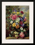 Summer Floral I Poster by Albert Williams