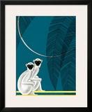 Two Monkeys Prints by Frank Mcintosh