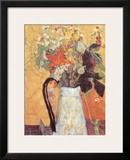 Blumenstrauss in Weissem Krug Art by Pierre Bonnard