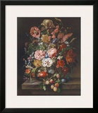 Flowers and Fruit Prints by Rachel Ruysch