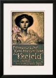 Franzosische Kunstausstellung zu Krefeld Art by Théophile Alexandre Steinlen