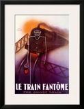 Le Train Fantome Print by Paul Colin