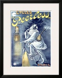 Peerless Cycles Framed Giclee Print