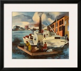 The Steamer Art by Peter Blume
