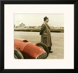 Enzo Ferrari F1 Grand Prix Framed Giclee Print