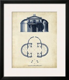 Architectural Blueprint IV Print by Andrew Cook George