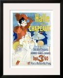 Halle aux Chapeaux, Depuis 3F60 Framed Giclee Print by Jules Chéret