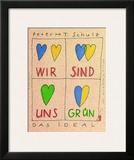 Wir Sind Uns Gruen Prints by Peter-Torsten Schulz