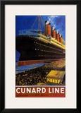 Cunard Line Prints