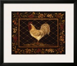 Old World Rooster Prints by Kimberly Poloson