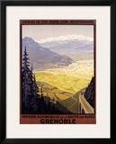 Grenoble Auto Framed Giclee Print
