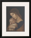 The Virgin with Sleeping Child Poster by Andrea Mantegna
