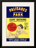 Palisades Amusement Park Framed Giclee Print