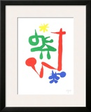 Parler Seul, 1947 Print by Joan Miró