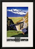 Berne-Loetschberg-Simplon Prints by Eugen Henziross