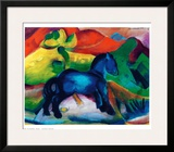 Blue Ponny Prints by Franz Marc