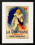 La Diaphane Prints by Jules Chéret