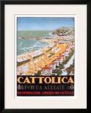 Cattolica Sand Framed Giclee Print