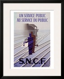 S.N.C.F Framed Giclee Print by Paul Colin