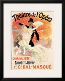 Theatre de l'Opera Framed Giclee Print by Jules Chéret