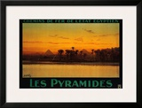 Pyramides Prints by M. Tamplough